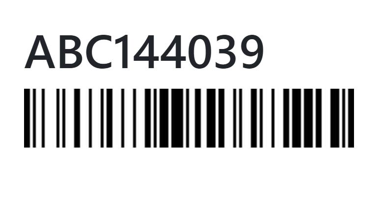 สร้างบาร์โค๊ด (barcode) ด้วย PHP Barcode Generator