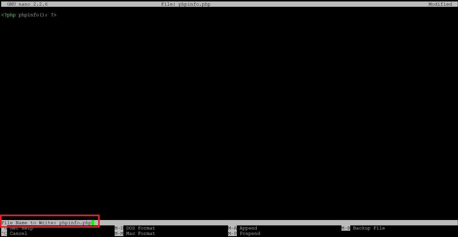 สร้างและแก้ไขไฟล์ใน Unix Command โดยใช้ nano