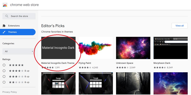ใช้งาน Night Mode และ Dark theme ใน Google Chrome