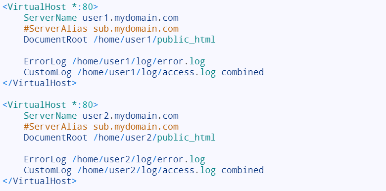 Create Apache Virtual Hosts on Ubuntu